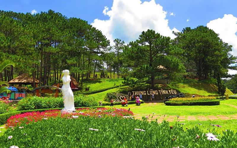 Tour Đà Lạt – Thác Giang Điền – Đường hầm Điêu khắc